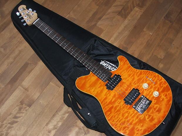 Sterling Ax20 2012 Flamed Top Orange Reverb
