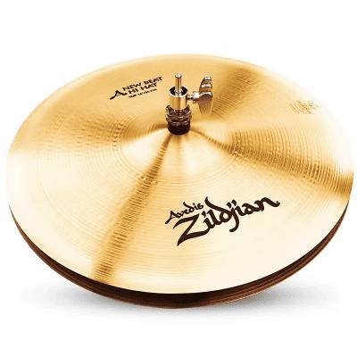"Zildjian 14"" A Series New Beat Hi Hat Cymbals (Pair) 1982 - 2012"