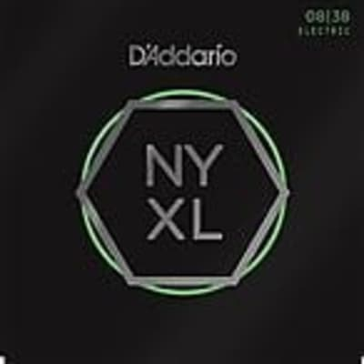 D'Addario Guitar Strings  NYXL 0838  Electric   Light Gauge 08-38