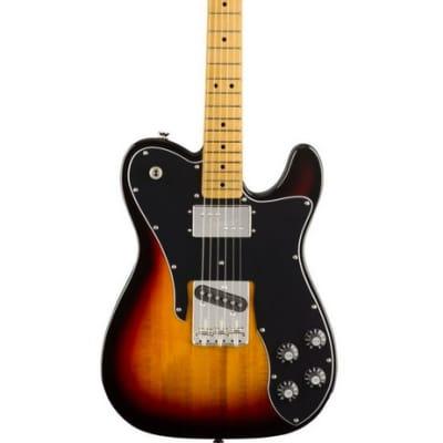 Fender Squier Classic Vibe '70s Telecaster Custom Maple Fingerboard 3 Colour Sunburst for sale