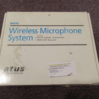 Audio-Technica W515 Wireless Instrument System New Old Stock