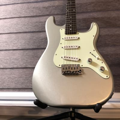 Schecter Nick Johnston Strat Style Traditional 2018 Atomic Silver for sale