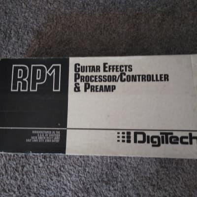 DigiTech DigiTech RP1 Guitar Effects Processor/Controller & Preamp 1992 Black for sale