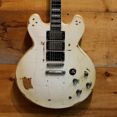 Palermo DIS VICIOUS Tommy Henriksen Sig. Guitar 2019 Alice Cooper / Hollywood Vampires Relic NEW for sale