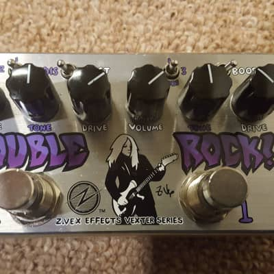 Zvex Double Rock Vexter Dual Distortion Pedal