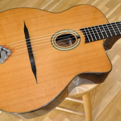 PARIS SWING CG-39 / Acoustic Gypsy Jazz Guitar / Oval Soundhole Little Mouth / CG39 for sale