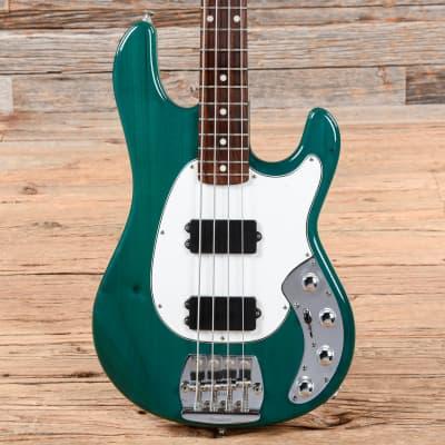 Music Man Sabre Bass HH Trans Green 1987 (s25743)