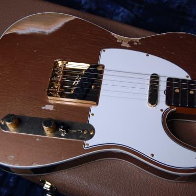 NEW! Fender Custom Shop '60 Reissue Telecaster Custom Shop Relic Modern Spec Authorized Dealer 7.1lb for sale
