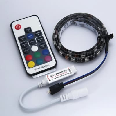 Temple Audio - RGB LED Light Strip w/ Remote for DUO 24 Pedalboard