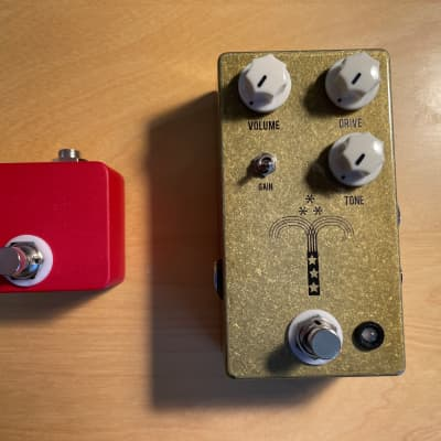 JHS Morning Glory V4 Overdrive Pedal + RED Remote