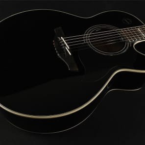Takamine EG543SC-B NEX Flame Maple Acoustic/Electric - Black (072) for sale