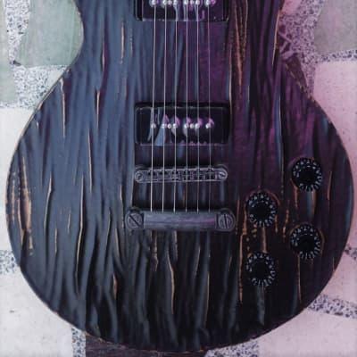 Spear P90 LP, Distressed Black - Free Gig Bag, Strings + Strap! for sale
