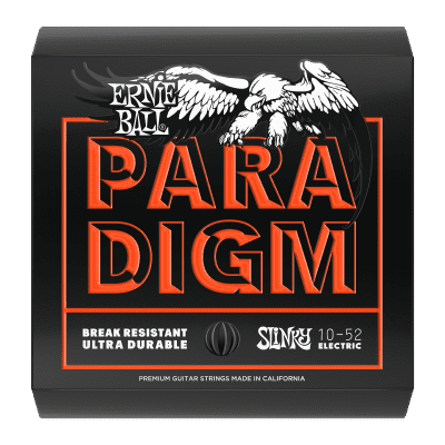 Ernie Ball Paradigm Skinny Top Heavy Bottom Slinky Electric Guitar Strings - 10-52 Gauge