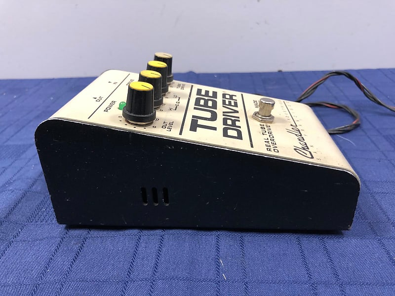 chandler tube driver real tube overdrive guitar pedal made in reverb. Black Bedroom Furniture Sets. Home Design Ideas