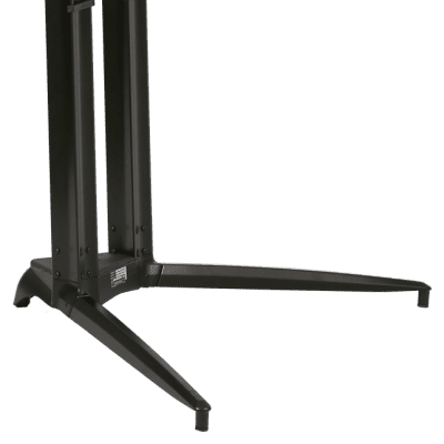 Stay standing piano stand black single tier Stay84
