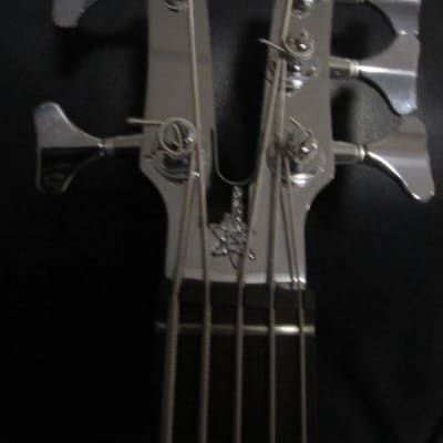 VACCARO V2  X-RAY 5 String Electric Bass 1998 - 2002 Black for sale