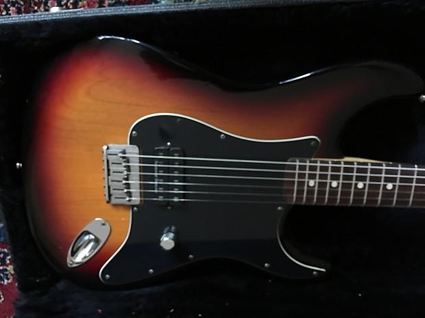 Fender Subsonic Stratocaster Baritone 2000 Burst Tom Reverb