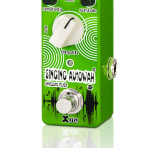 X VIVE V17 SINGING AUTOWHA FILTER Micro Effect Pedal Analog True Bypass FREE SHIPPING