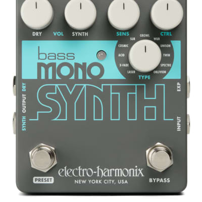 Electro-Harmonix Bass Mono Synth Pedal