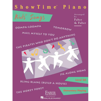 ShowTime Piano: Kid's Songs - Level 2A: Elementary Playing (Faber Piano)