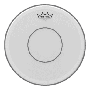 Remo Powerstroke 77 Coated Top Clear Dot Snare Drum Head 13""