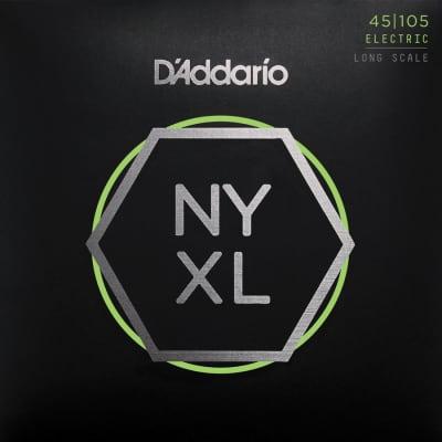 D'Addario NYXL45105 - Long Scale, Light Top/Medium Bottom, 45/105