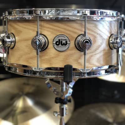DW Collectors Series 6x14 Pure Oak Snare Drum in Satin Oil