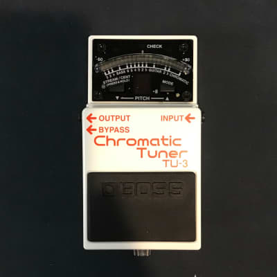 Used Boss TU-3 CHROMATIC TUNER Guitar Effects Other