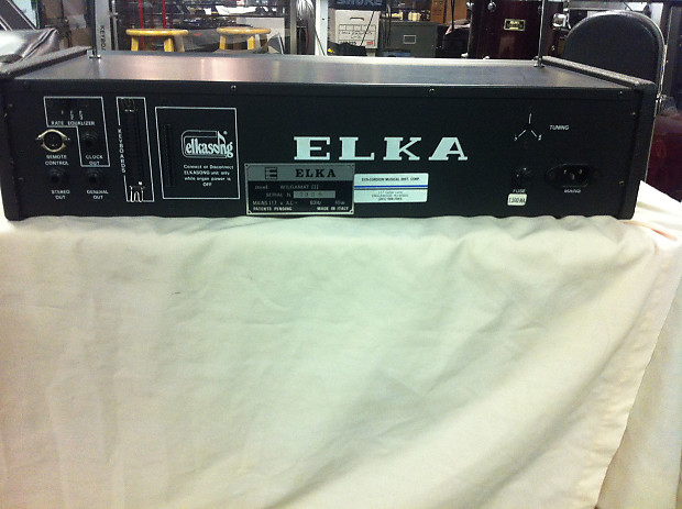 Elka Wilgamat 111 Analog Drum Machine 1970s Reverb