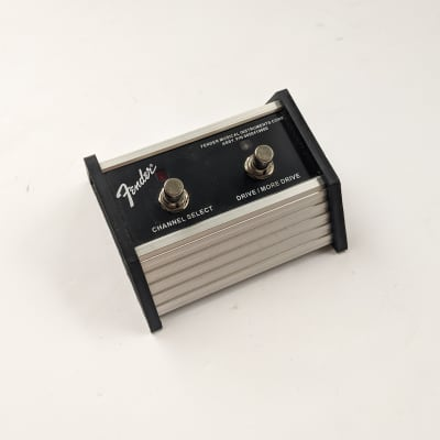 Fender Fender 2-Switch Channel Select & Drive/More Drive Pedal for sale