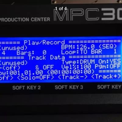 AKAI MPC3000  MPC60mkII s1000 1100 s3000xl s3200 XL CD3000 LED SCREEN LCD display NEW!  LOW PRICE!