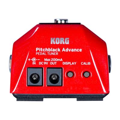 Korg Pitchblack Pb Ad Rd Tuner for sale