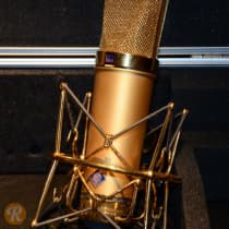 Neumann U 87 Gold 70th Anniversary Pair 1998 Gold image