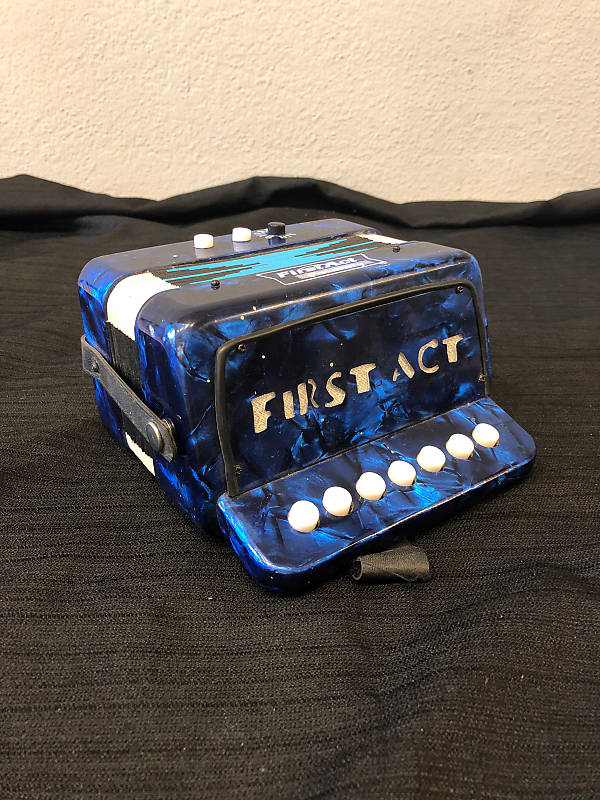 First Act Discovery Children's Accordion Blue