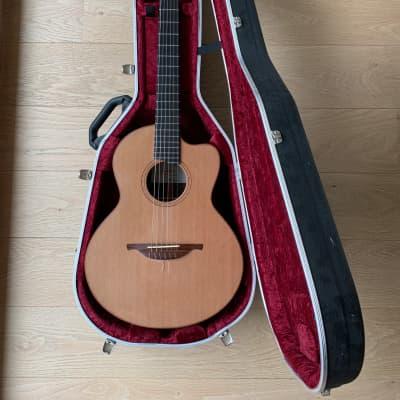 Lowden S25J Jazz Cutaway Crossover Nylon Cedar Acoustic Guitar Fishman Matrix Infinity Pickup Hiscox for sale