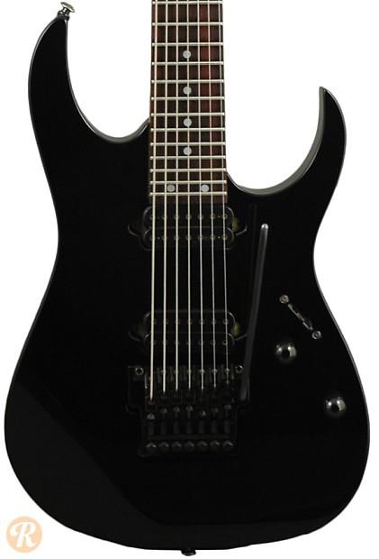 Ibanez RG 7-String 1998 Black Price Guide | Reverb