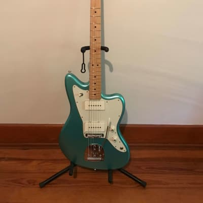 2017 Fender American Professional Jazzmaster - Mystic Seafoam - Locking Tuners - Case & Paperwork