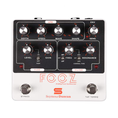 Seymour Duncan Fooz Analog Fuzz Synthesizer Pedal USED