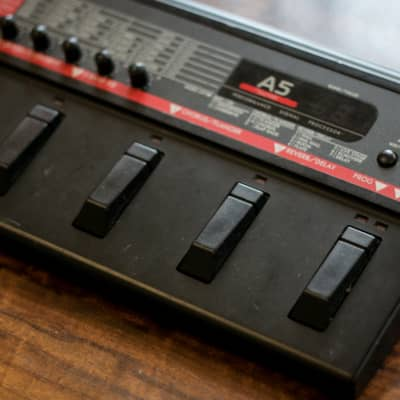 Japan rare Korg A5 Guitar Effects Processor 1990s Black