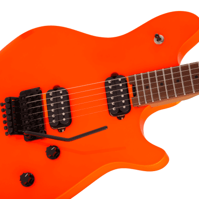 NEW! EVH Wolfgang WG Standard Baked Maple Fingerboard Neon Orange Finish - Authorized Dealer for sale