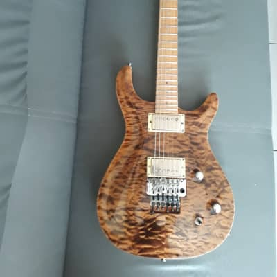 Carvin Ct6 2000's Quilted Tiger Burst