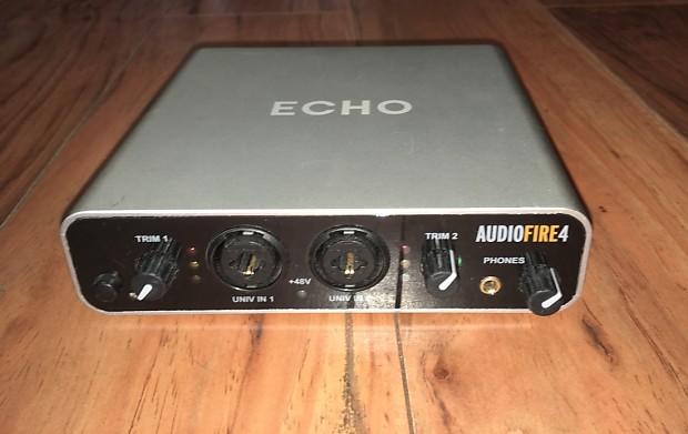 ECHO AUDIOFIRE 4 WINDOWS XP DRIVER