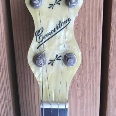 Concertone Tenor Banjo w/ Mastertone - style Tone Ring for sale