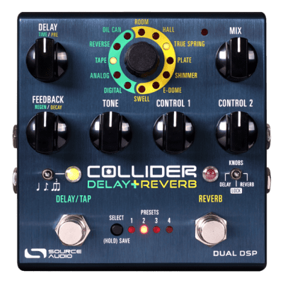 Source Audio Collider Delay + Reverb - The Pedal Store!