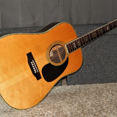 MADE IN JAPAN 1977 - RIDER R500D - ABSOLUTELY AMAZING - MARTIN D45 STYLE - ACOUSTIC GUITAR for sale