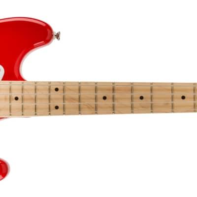 Fender Squier Bronco Bass, Maple FB, Maple Fingerboard, Torino Red