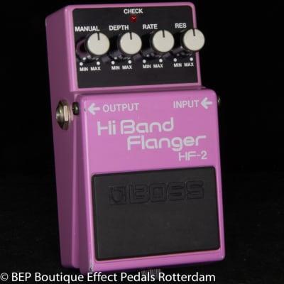 Boss HF-2 Hi Band Flanger 1988 s/n 892445 Japan