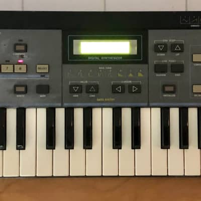 Casio CZ-101 Phase Distortion Synthesizer with Bright New Display New Power Supply - Fully Serviced!