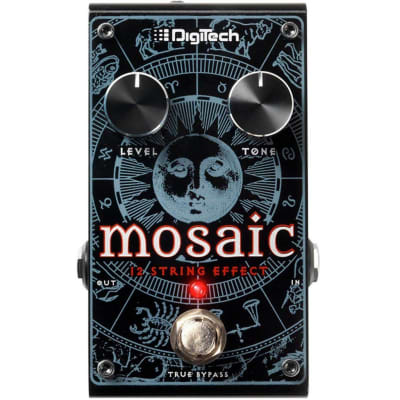DigiTech Mosaic Polyphonic 12-String Effect Pedal Open Box