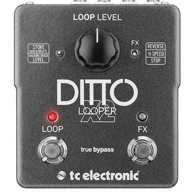 TC Electronic Ditto Looper X2 Looper Pedal for sale